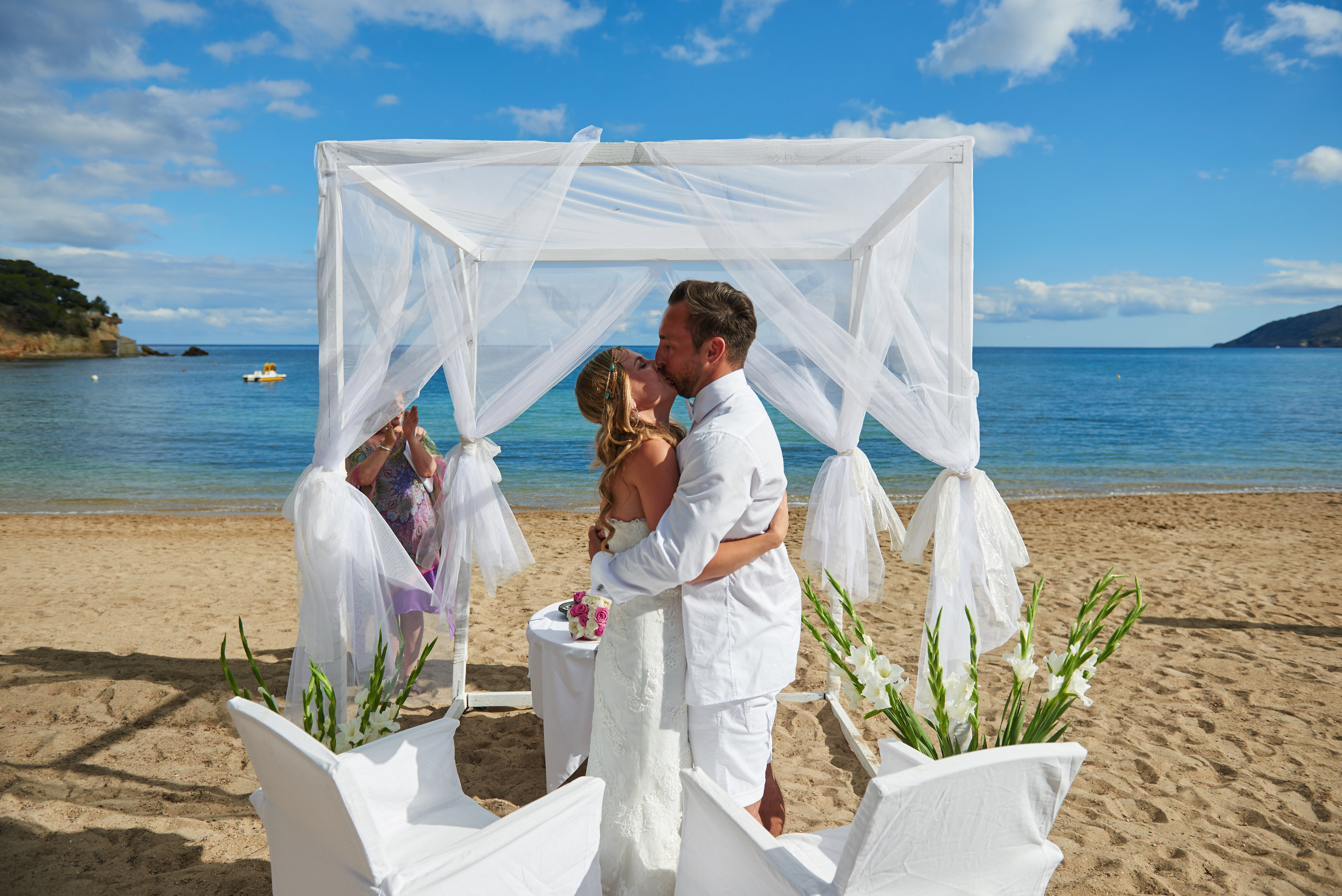 Only Wedding Agency with own Beach Wedding Venue on Ibiza