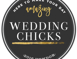 Our wedding at Wedding Chicks Magazine
